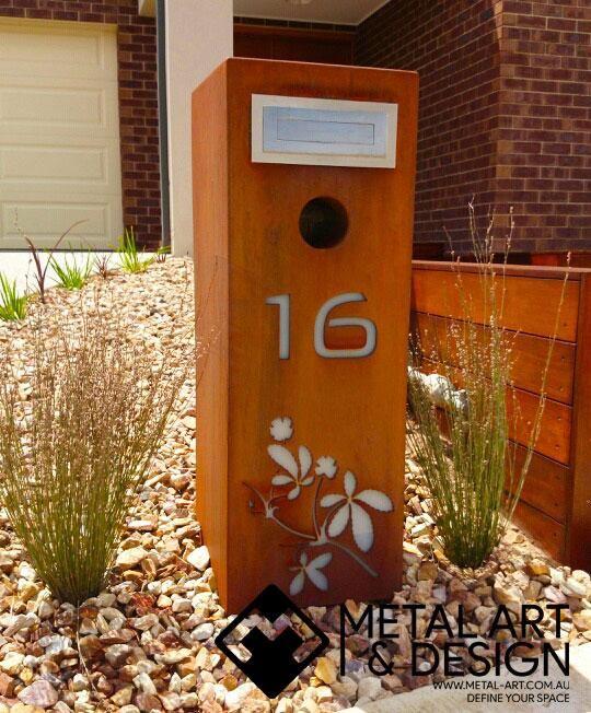16 Letterbox - Metal Art