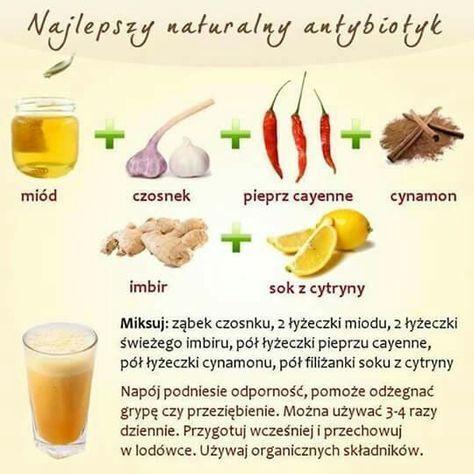 Naturalny antybiotyk z domowej apteczki