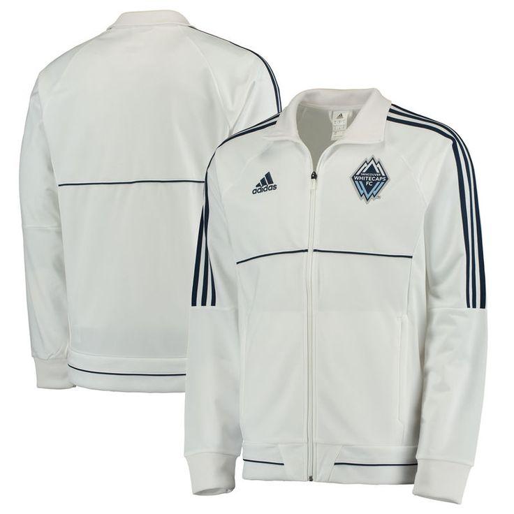 Vancouver Whitecaps FC adidas Anthem Full-Zip Jacket - White