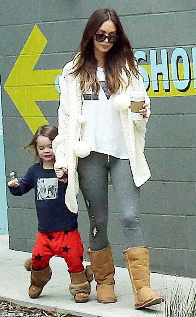 Megan Fox And Ex Husband Brian Austin Green Enjoy