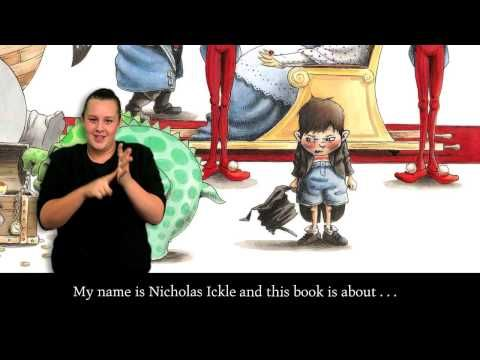 'The Wrong Book' Auslan version - YouTube