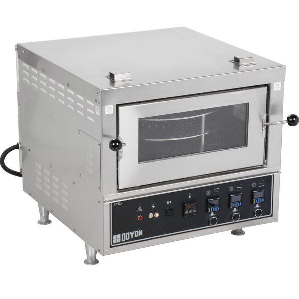 Doyon Fpr3 Countertop Electric Pizza Deck Oven In 2020 Deck