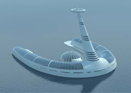 The Venus Project - New City 3D Renderings as of 2010 - SkyscraperPage Forum