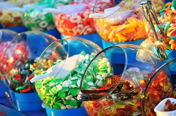 How to Create a Candy Buffet for Your Wedding Reception thumbnail