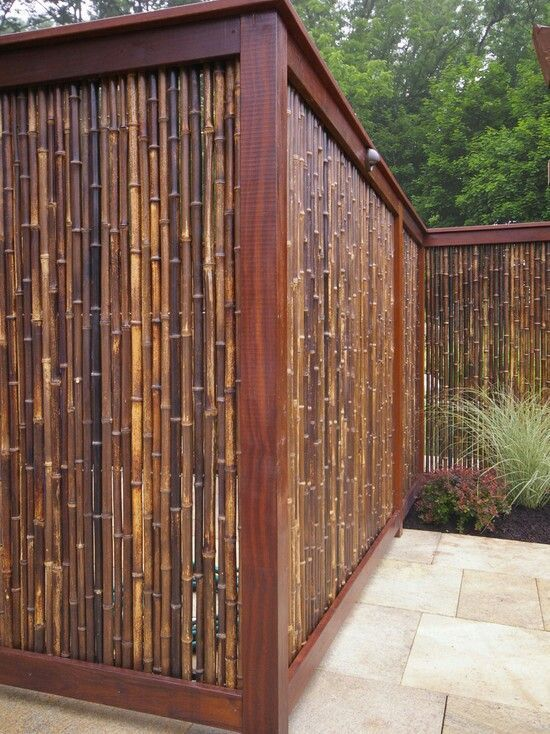 The 25+ best Bamboo fencing ideas on Pinterest Bamboo fencing - bambus garten design