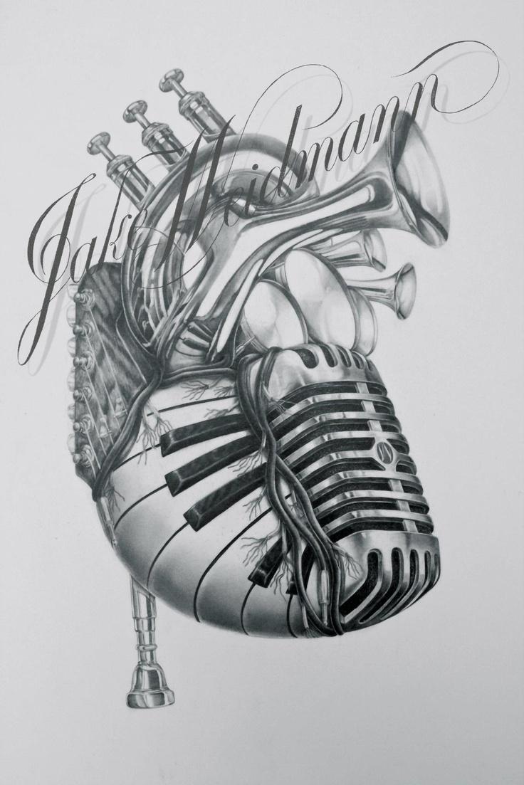 Pencil Drawings: Pencil Drawings Music