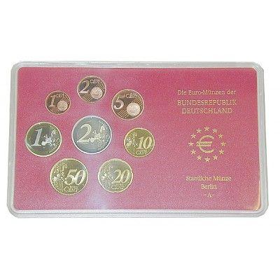 Bundesrepublik Deutschland, Euro-Kursmünzensatz 2009, Einzelsatz, PP: Euro-Kursmünzensatz 2009 Einzelsatz. Polierte Platte 17,50€ #coins