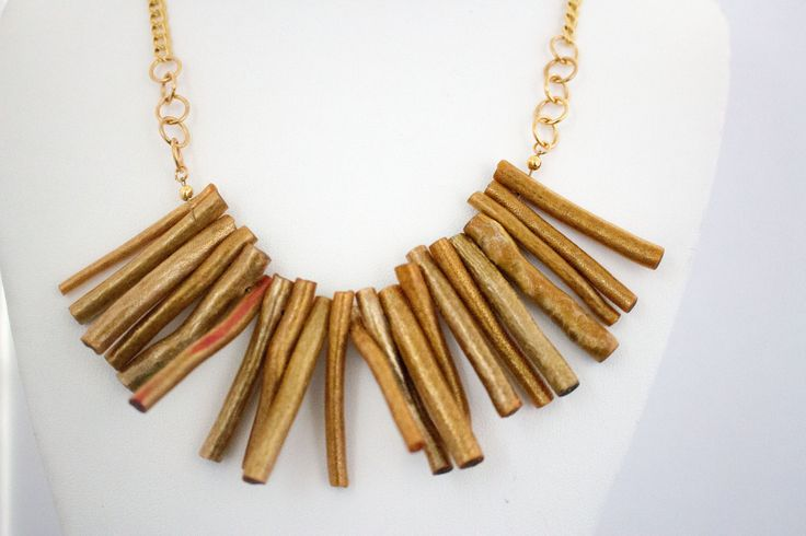 Amber Dyed Reconstructed Coral Necklace, Beaded Necklace, Modern Statement Handcrafted, Gift for Her by IvanRoseCreations on Etsy