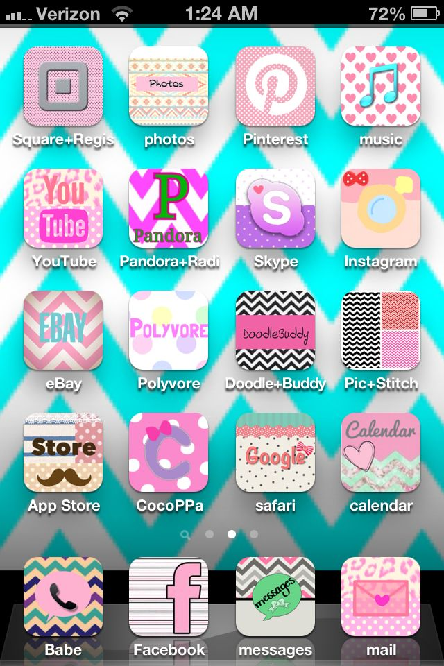 Cocoppa app for cute icons for your phone