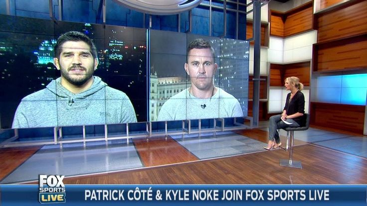 The Ultimate Fighter coaches Patrick Cote and Kyle Noke join FOX Sports Live