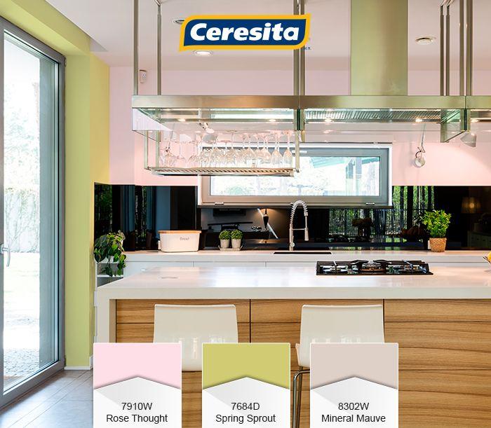 CeresitaCL #PinturasCeresita #Color #Cocina #Pintura #Decoración #Tendencia #Actual #Hogar #Home #Deco #Estilo *Códigos de color sólo para uso referencial. Los colores podrían lucir diferentes, según calibrado de su monitor.