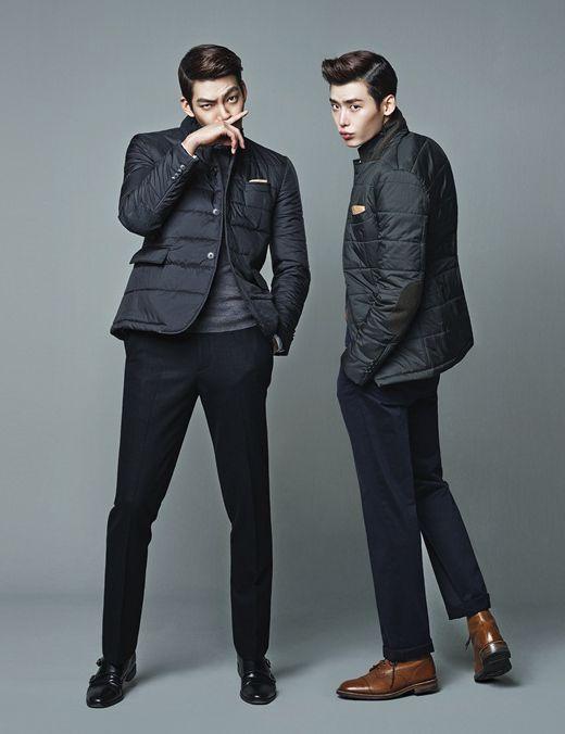 Lee Jong Suk, Kim Woo Bin pour Trugen (1)