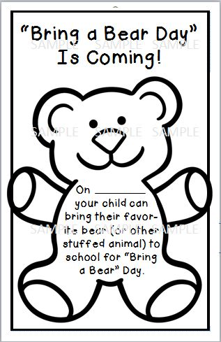 Bears the teacher and printables on pinterest