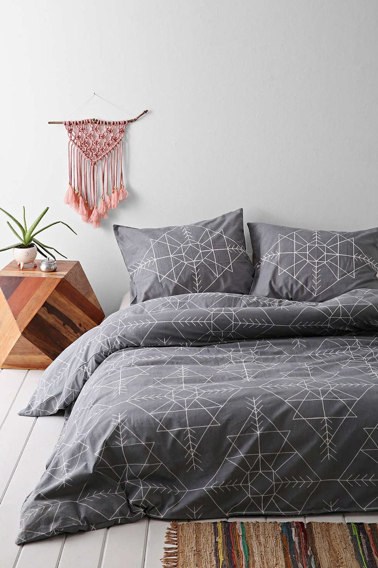 Best 25 Geometric Bedding Ideas That You Will Like On