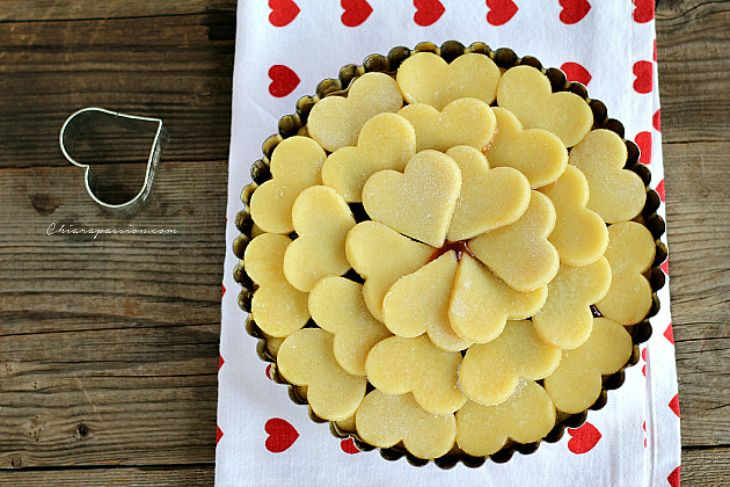 Crostata di cuori, Heart pie