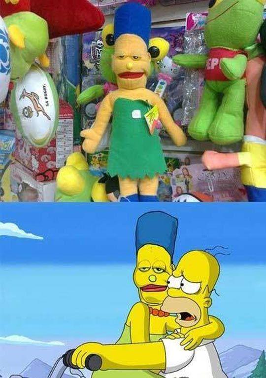 Creepy Marge Simpson