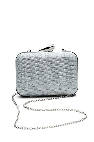 New Trending Purses: Women Clutch Purse Wallet Hard Case Glitter Evening Bag Handbag With Chain Strap (silver). Women Clutch Purse Wallet Hard Case Glitter Evening Bag Handbag With Chain Strap (silver)   Special Offer: $15.50      133 Reviews This shiny minaudiere clutch will bright up your festive look and serve you as an elegant and practical part of the party / cocktail / evening / prom outfit....