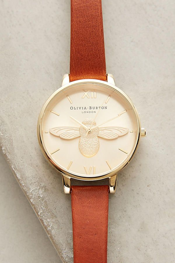 Queen Bee Leather Watch