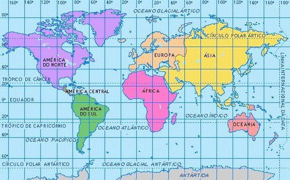 Mapa Mapa Planisferio Imágenes De Mapas Mapas Geograficos Mapas