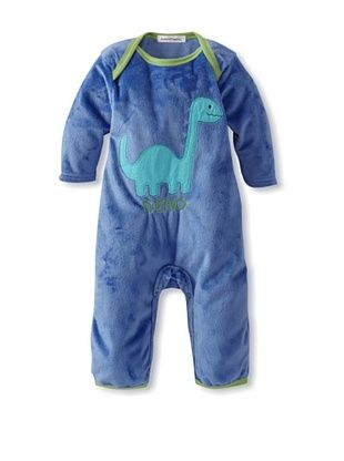 30% OFF Rumble Tumble Baby Dino Plush Coverall (Dark Blue)