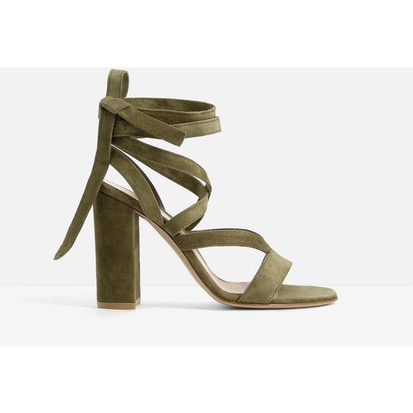 Gianvito Rossi Gianvito Rossi Janis Sandals (47.565 RUB) ❤ liked on Polyvore featuring shoes, sandals, camel, high heel shoes, round cap, gianvito rossi sandals, round toe shoes and camel sandals