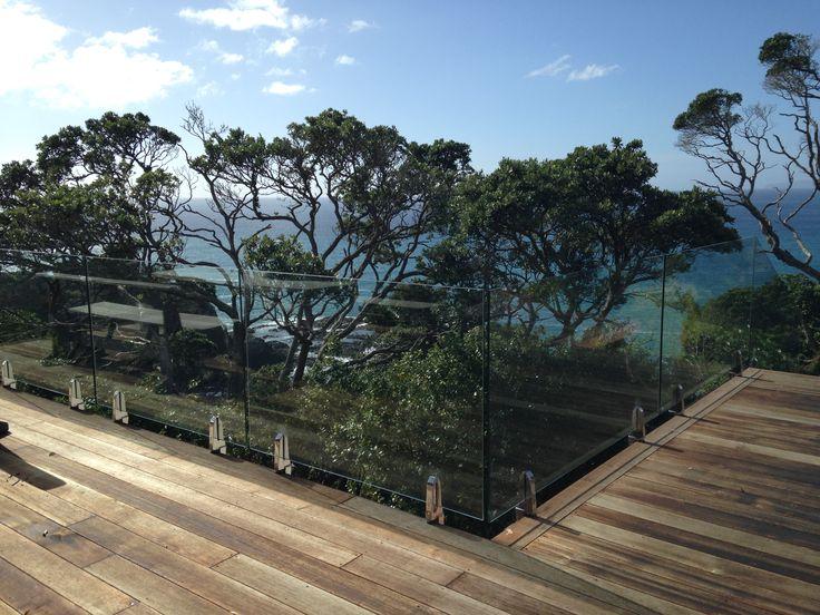 Frameless Glass Balustrade by Outdoor Edge