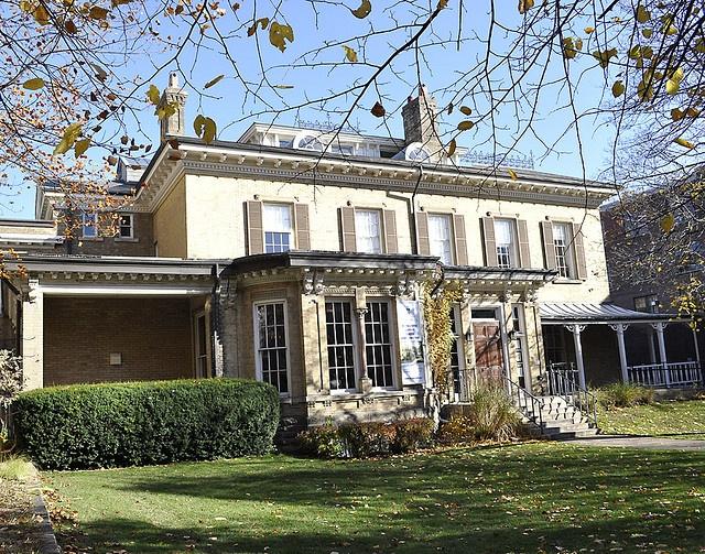 International Student Centre, Cumberland House, built in 1860, University of Toronto