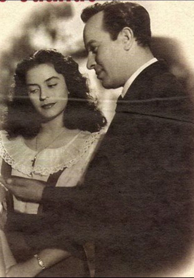 Actor mexicano Pedro Infante y Silvia Derbez
