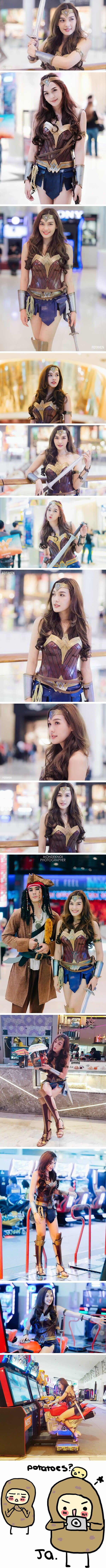 Stunning Wonder Woman cosplay will make you fall in love with Diana: Please meet Pichyada Chatlkamjaroen (Rae)