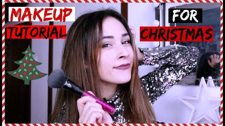 MY MAKEUP TUTORIAL FOR CHRISTMAS!!!