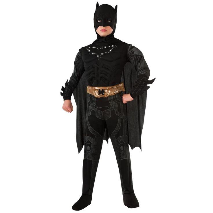 Best Superhero Costume for Boys: Batman Dark Knight Rises Child's Costume