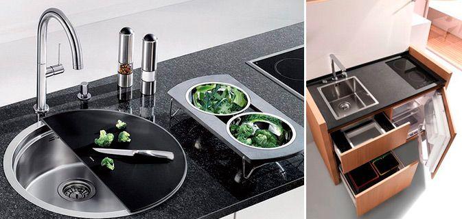 """Cozinha pequena? Esses móveis sabem muito bem como torná-la """"gigante""""."""