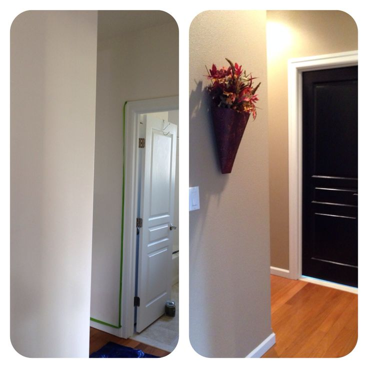 Awesome Elegant Bathroom Paint Colors Behr Bathrooms: White Hallway, Behr And Teepees On Pinterest