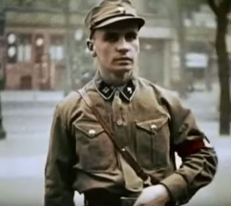 Horst Wessel was a squad leader in the SA who was killed by communists in 1930. Goebbels turn him into the NSDAP hero martyr. A song Wessel had written was turned into the co-national anthem known as the Horst Wessel-Lied.