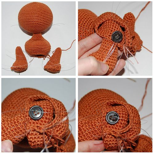 Amigurumi Arms And Legs : 171 best images about crocheted dolls on Pinterest ...
