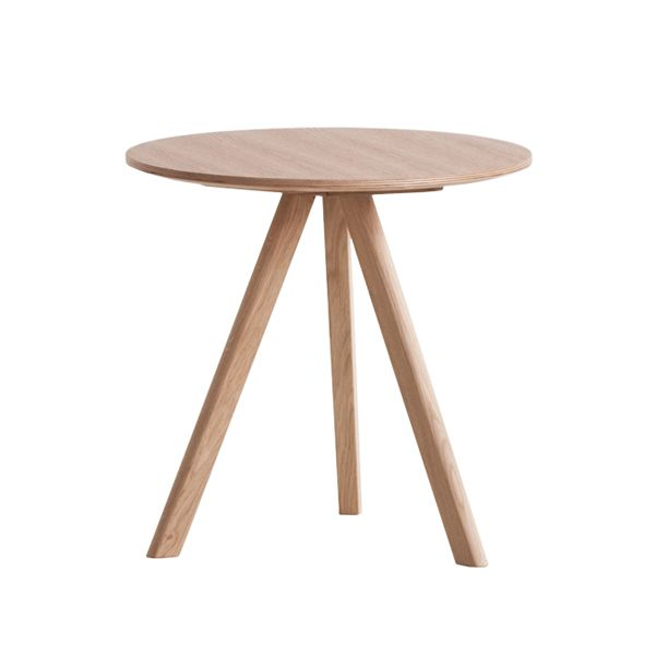 Copenhague CPH20 round table, 50 cm, by Hay. Design by Ronan  Erwan Bouroullec.