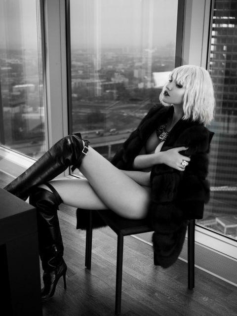 Model - Sasha Luss Photographer - Lev Efimov Style - Gala Borzova Make up…