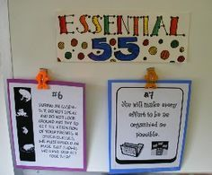 I've read the book Essential 55 and used it last year, I like how this teacher incorporated it into her weekly routine