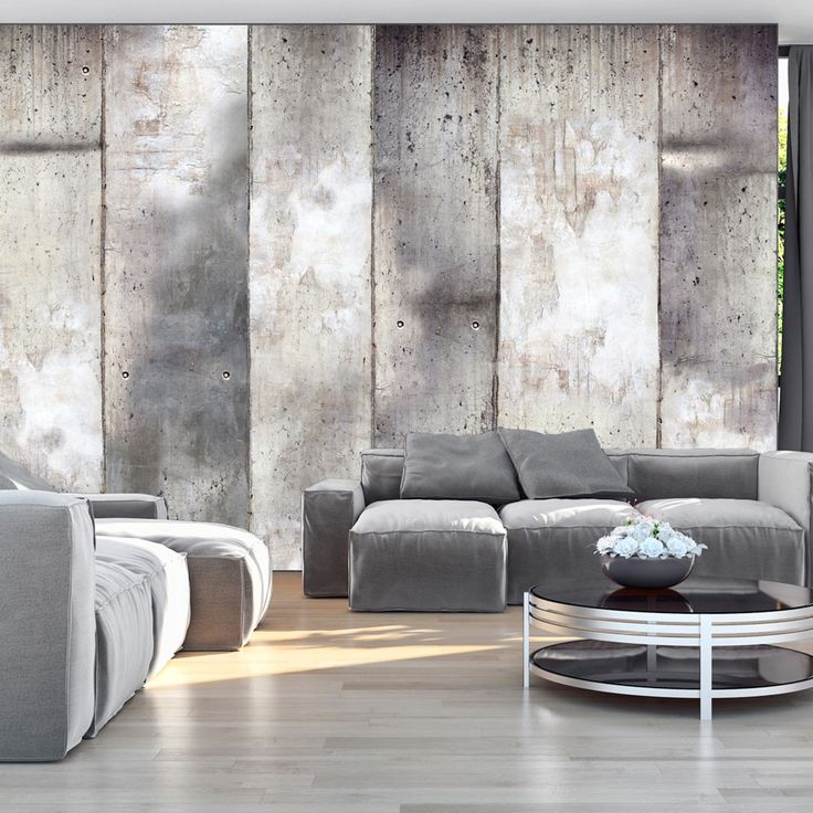 Wallpaper – Gray stripes – 3D Wallpaper Murals UK
