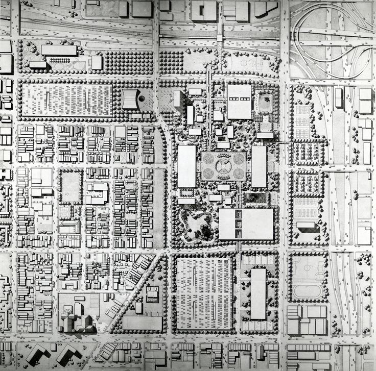 Walter Netsch (SOM) UIL Campus/ Circle Campus, 1961