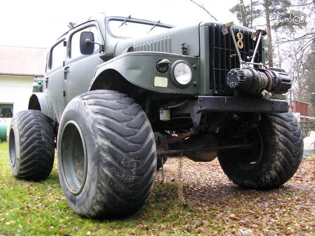 Big wheeled Volvo Sugga