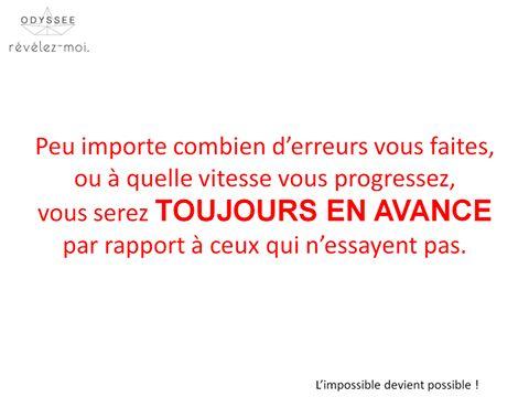 Ayez une longueur d'avance avec TousRecruteurs! #motivation #citation #toujoursenavance #OdysséeRh