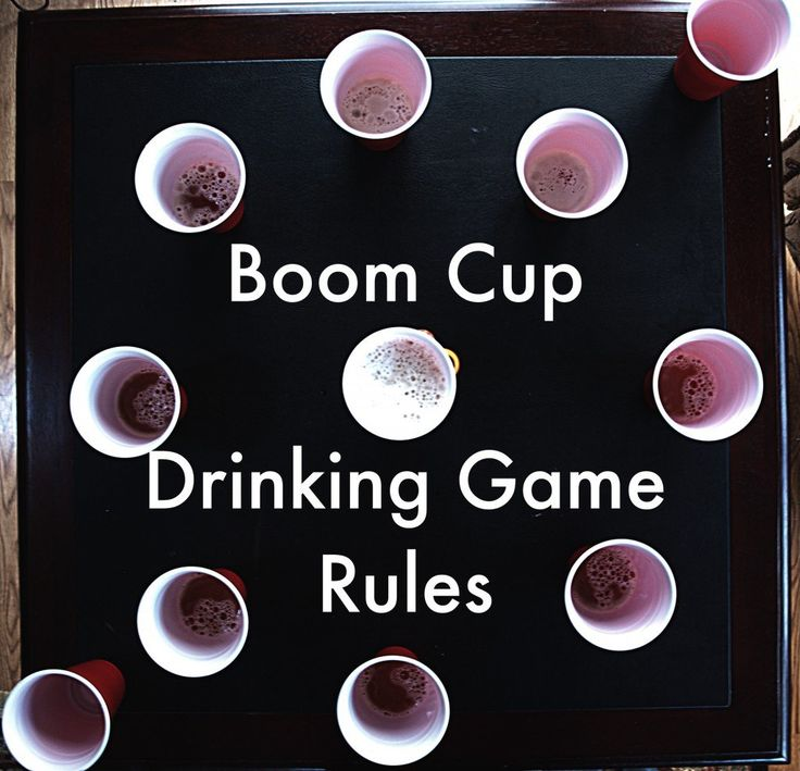 This articles goes over how to play Boom Cup (or Slap Cup), one of the best drinking games around!