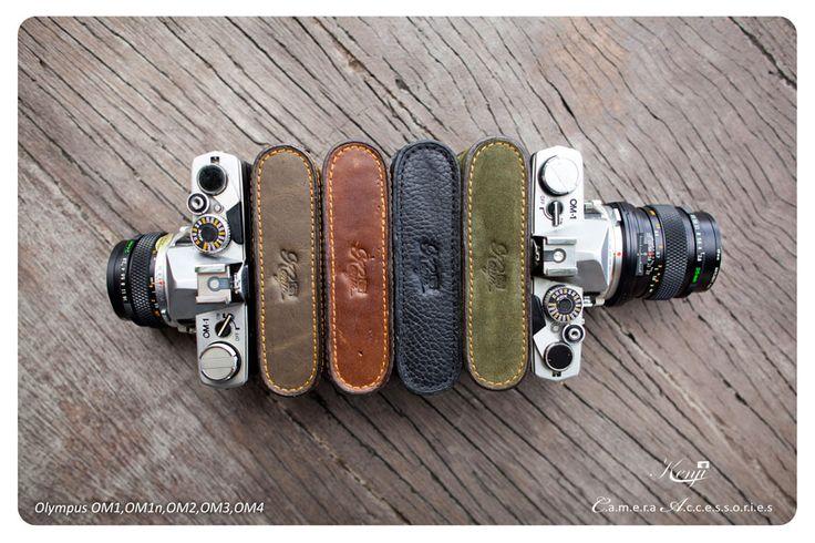 Kenjileather Leather half case for Olympus OM1, OM1n, OM2, OM3, OM4