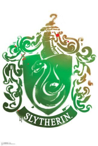 Slytherin Crest - Harry Potter and the Deathly Hallows Wall Decal at AllPosters.com