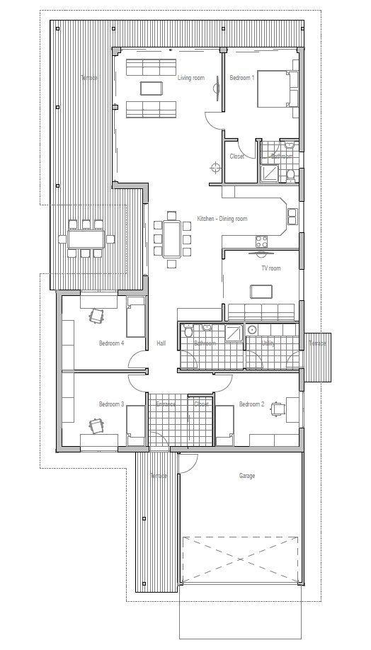 26 best Small/Narrow Plot House Plans images on Pinterest ...