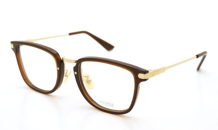 ayame (アヤメ) メガネ 200本限定生産[ILLEGAL イリーガル BRW ブラウン] | optician | ponmegane
