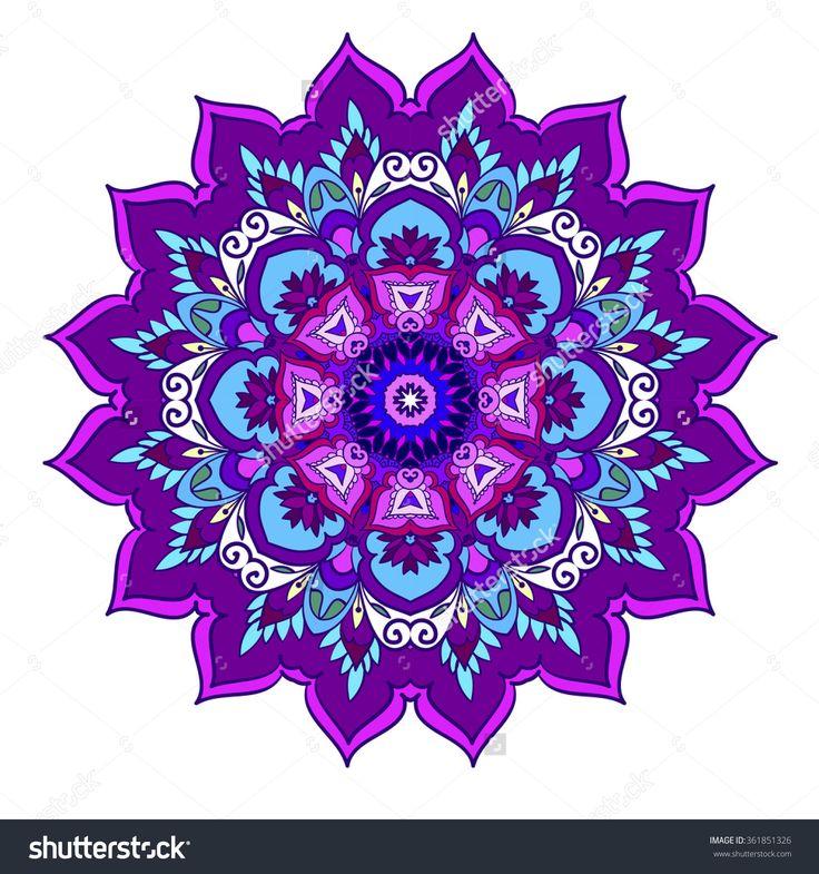 Paisley Pattern Crochet Floral