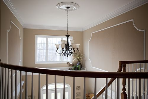 Molding for foyer with high ceilings foyer pinterest for Foyer meaning in english