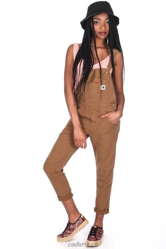 Carhartt WIP Bib (Mode Damen Jeans) 97% Baumwolle / 3% ...